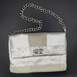 Whiting and Davis Handbag with Chain Strap